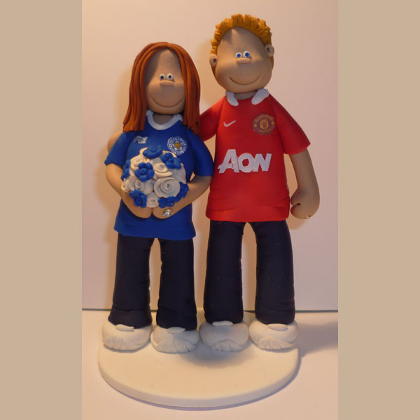 Manchester United Wedding Cake Topper