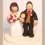 linked-arms-wedding-cake-topper