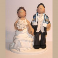 man-city-scarf-wedding-cake-topper