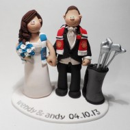 Personalised Manchester City Cake Topper