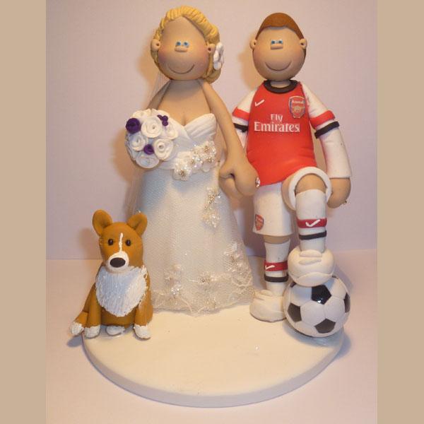 Sport Wedding Cake Toppers Totallytoppers Com