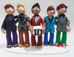 One Direction Birthday Cake Topper