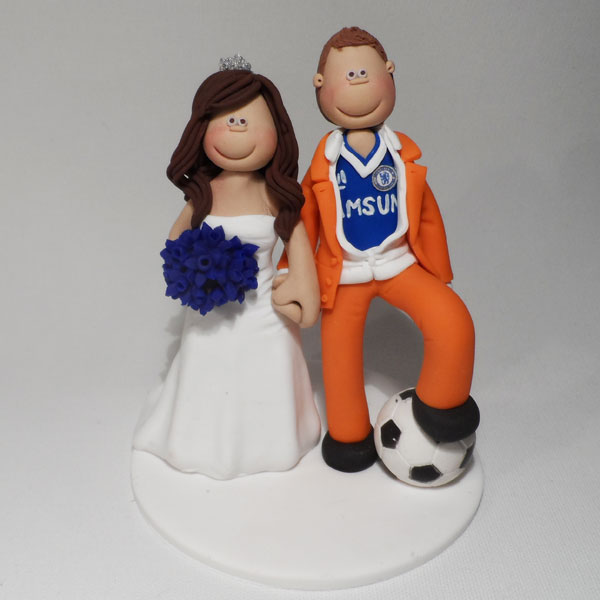 Bride Groom Cake Toppers Glasgow