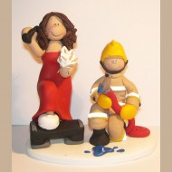 firefighter-cake-topper