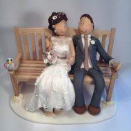 park-bench-cake-topper