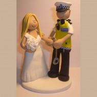 police-arresting-bride-cake-topper