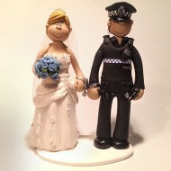 police-blue-flowers-cake-topper