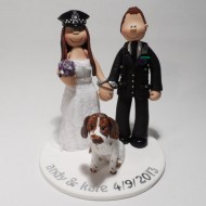 police-bride-wearing-hat-cake-topper