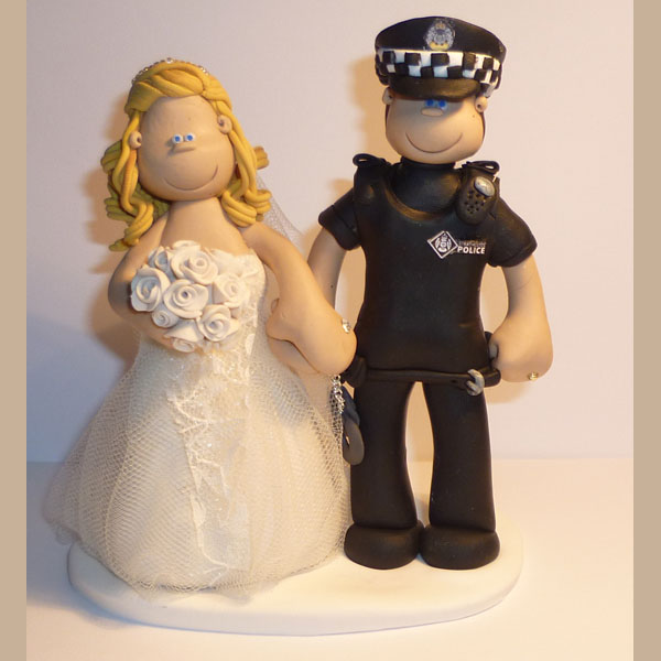 Pin Nurse Policeman Cake Topper Wedding Inspirations Cake