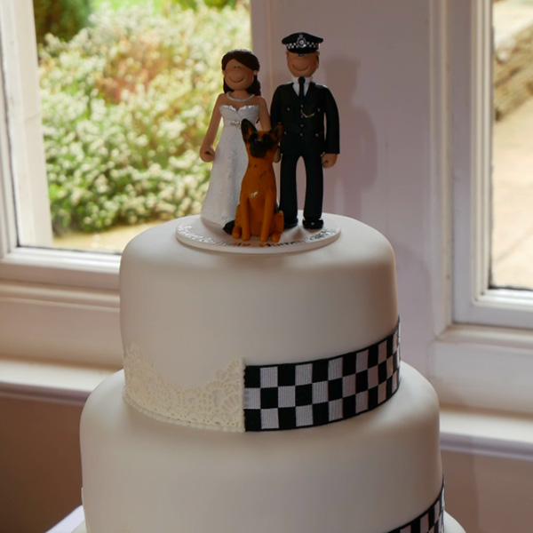 Police Woman Cake Topper