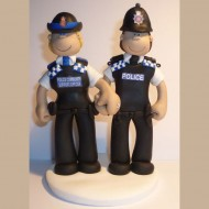police-couple-cake-topper