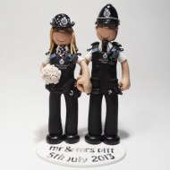 police-couple-wedding-cake-topper