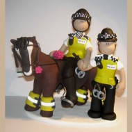 police-horse-cake-topper