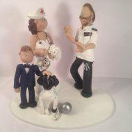 police-nurse-cake-topper