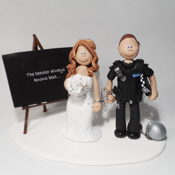 Stunning Police Wedding Cake Toppers Gallery - Styles & Ideas 2018 ...