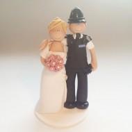 police cake topper