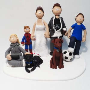 Wedding Cake Topper Commissioned For Capital FM Breakfast DJ -
