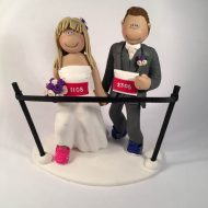 runners-wedding-cake-topper