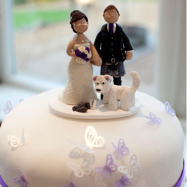 Scottie Dog Cake Topper
