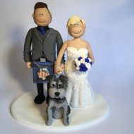 scottish terrier wedding cake toppers family amp pet cake toppers totally toppers 19692