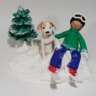 snowboarder-with-dog