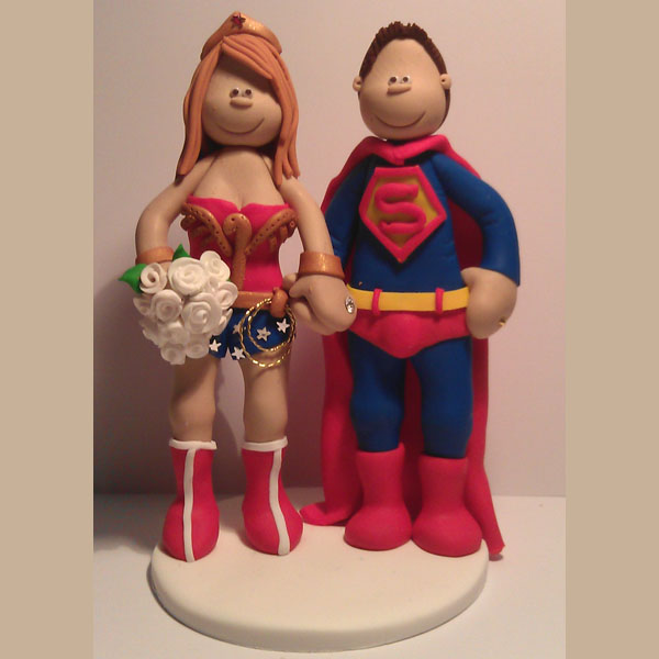 wonder woman wedding cake themed wedding cake toppers totally toppers 27587