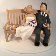 tea-drinking-wedding-cake-topper