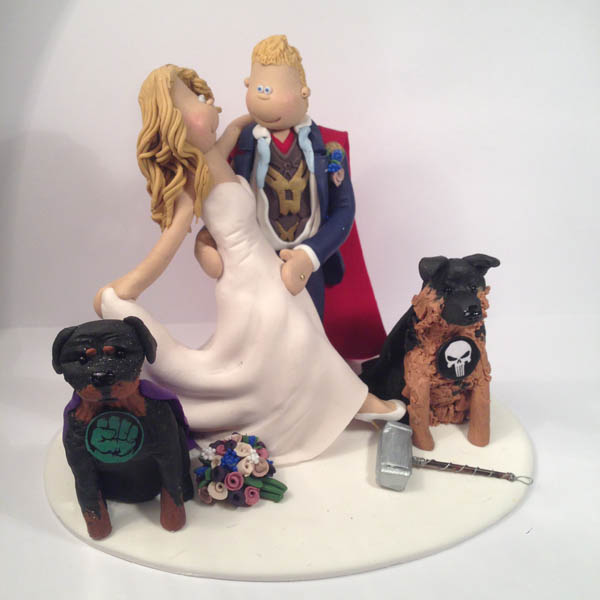 marvel wedding cake toppers hobby amp interest cake toppers totally toppers 17218