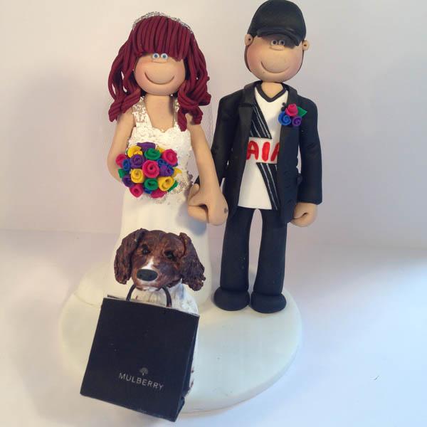 Sport Wedding Cake Toppers   TotallyToppers.com