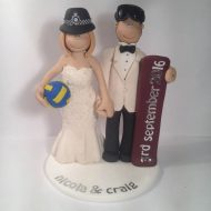 volleyball-snowboarding-cake-topper