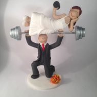 weight-lifter-wedding-cake-topper