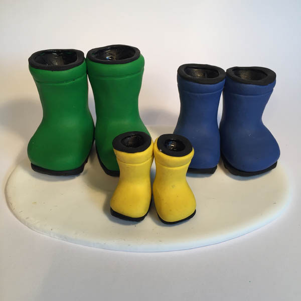 wellington boots wellies cake topper Personalised Wedding Cake Toppers Bride And Groom