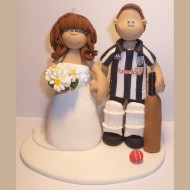 Cricket Bride And Groom Cake Toppers