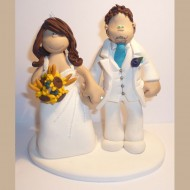 white-suite-bride-groom-cake-topper