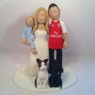 Arsenal Cake Topper Figures